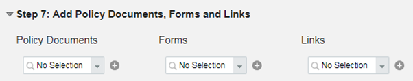 add policy documents
