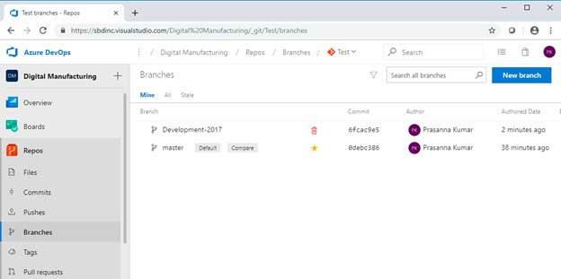 Azure DevOps – Git Repository Management